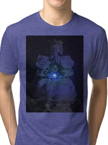 Tranquil Enlightening Buddha Tri-blend T-Shirt