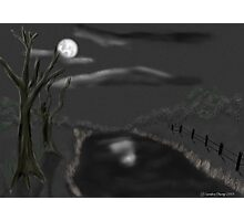 Haunted By Moonlight Photographic Print