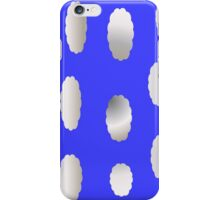 Clouds on blue sky iPhone Case/Skin