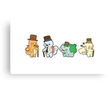 Pokemon - Mustache Canvas Print