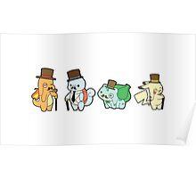 Pokemon - Mustache Poster