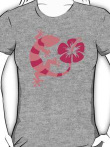 Gecko hibiscus T-Shirt