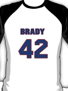 National baseball player Brady Clark jersey 42 T-Shirt