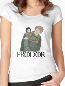 Frodor Women's Fitted Scoop T-Shirt