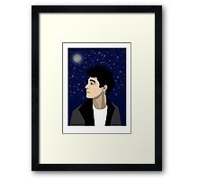 Moonlight Thought Framed Print