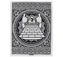 Pyramid of Doom Photographic Print