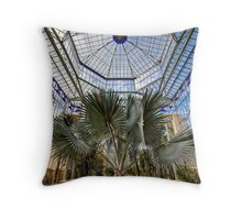 Old Greenhouse - Adelaide Botanic Gardens Throw Pillow
