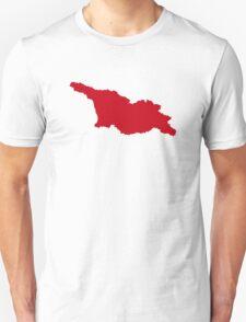 Georgia map Unisex T-Shirt