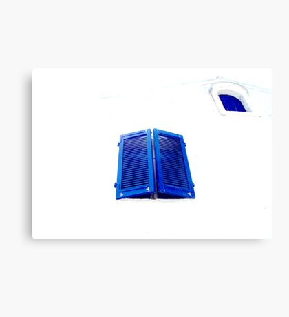 Greek Blue Canvas Print