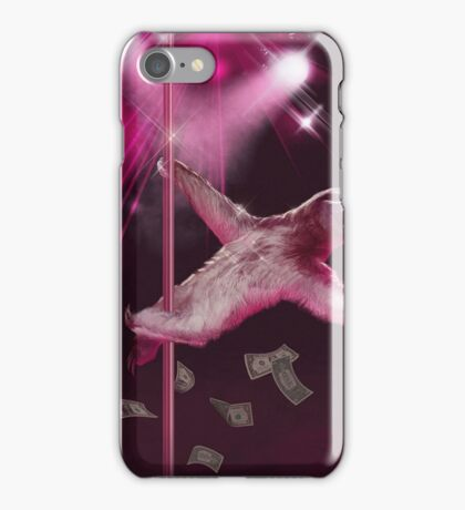 Sloth Stripper iPhone Case/Skin