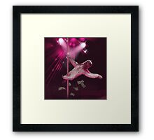 Sloth Stripper Framed Print