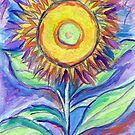 Flagler Beach Sunflower by Roz Abellera Art Gallery