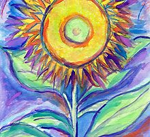 Flagler Beach Sunflower by Roz Abellera Art Gallery