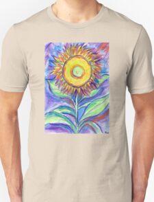 Flagler Beach Sunflower Unisex T-Shirt