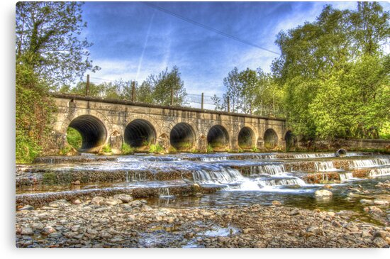 The 7 Arches Bridge - River Douglas, Co. Derry   by Kieran Donnelly