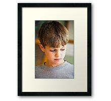 Innocent Reflections © Framed Print