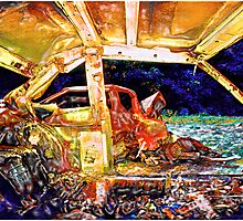 Smashed Cars #8 by Mark Ross