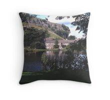 Kilnsey Crag  Throw Pillow