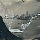 "NYC Skyline with ESB ""tintype"" photograph by ShellyKay"