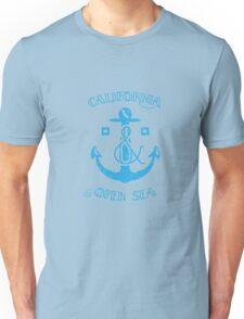 California & the Open Sea Unisex T-Shirt