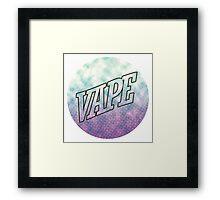 Vape Update Framed Print