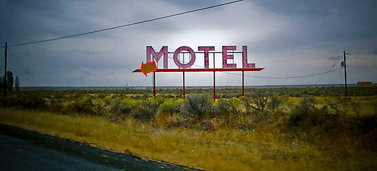 motel by Bruce  Dickson