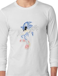 Bad Creepypasta Sonic Exe Long Sleeve T-Shirt