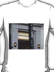 Abbey Road Studio Sign T-Shirt