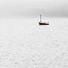 little red sail boat by SNAPPYDAVE