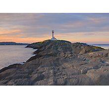 Cape Forchu Lighthouse - Nova Scotia, Canada Photographic Print