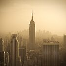 Empire State Building and Manhattan Skyline (Alan Copson ) by Alan Copson