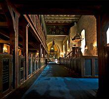 Fjaere church from 1100 by Rudschinat