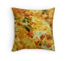 Omelette Throw Pillow