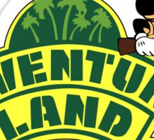 travel to exotic lands Sticker