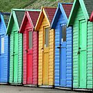 Beach Huts by KathO