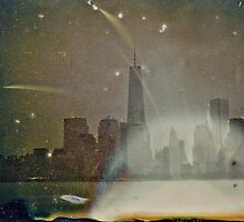 1World Trade Center Dry Plate Tintype Photograph by ShellyKay