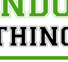 It's a SANDOW thing, you wouldn't understand !! Sticker