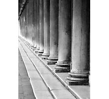 A Row of Columns Photographic Print