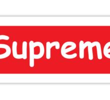Supreme Comic Sticker
