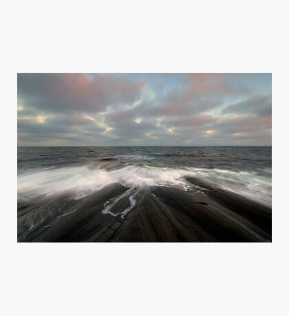 i am like the breeze on the ocean waves Photographic Print