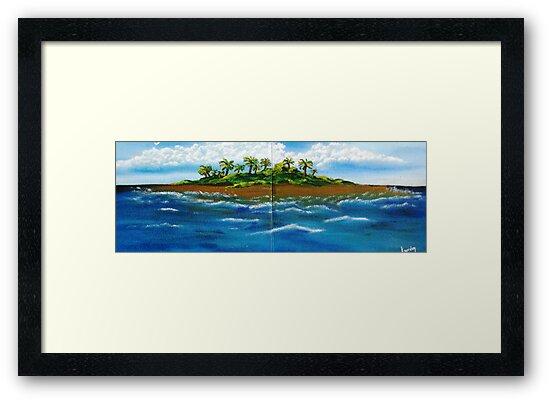 My Lil Island by WhiteDove Studio kj gordon