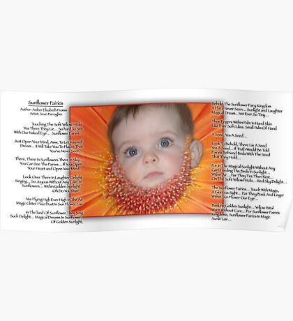 Sunflower Fairies  Poster