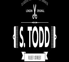 S. TODD's Barber Shop  by FrankG410