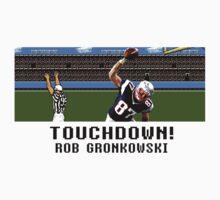 Tecmo Bowl Touchdown Rob Gronkowski by av8id