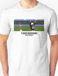 Tecmo Bowl Touchdown Tom Brady Unisex T-Shirt
