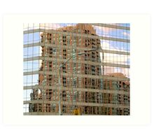 The JELLO Building..... Shaking All Over..... Art Print
