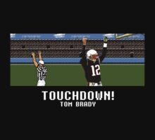 Tecmo Bowl Touchdown Tom Brady by av8id