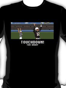 Tecmo Bowl Touchdown Tom Brady T-Shirt