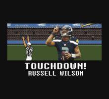 Tecmo Bowl Touchdown Russell Wilson by av8id