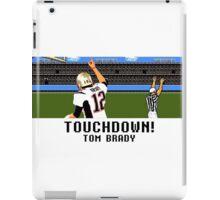 Tecmo Bowl Touchdown Tom Brady iPad Case/Skin